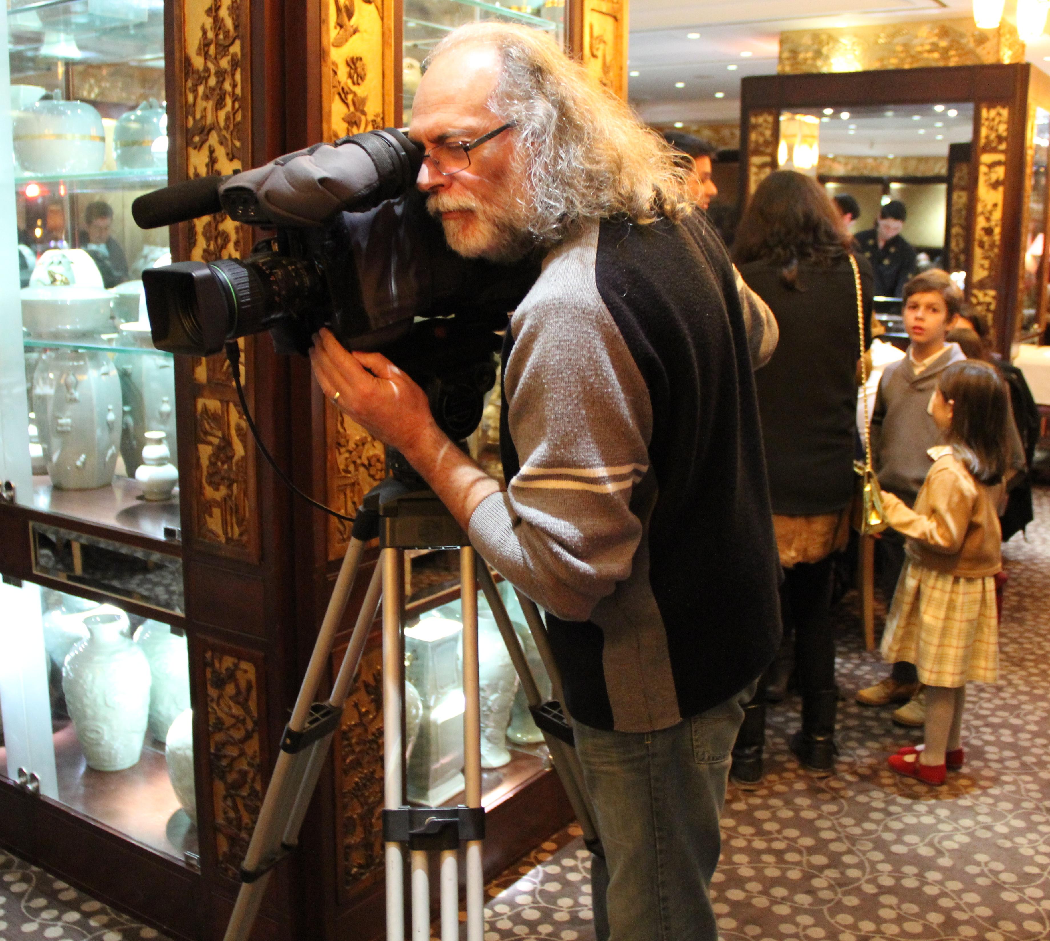 As primeiras filmagens de Carlos Fraga foram feitas no restaurante Mandarim no Casino Estoril